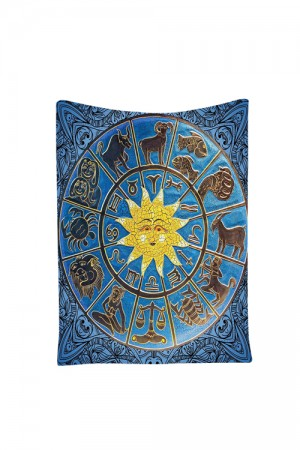 Polyester Stunning Horoscopes Sun Signs Tapestries