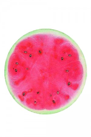 Polyester Multi Purpose Watermelon Pattern Beach Towel