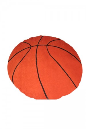 Polyester Dainty Basketball Pattern Beach Towel