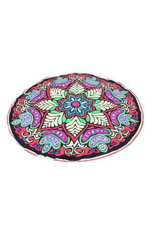 Fashion Colorful Printed Mandala Tapestry Beach Throw