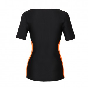 Posture Correct Zip Up Short Sleeve Neoprene Shapewear
