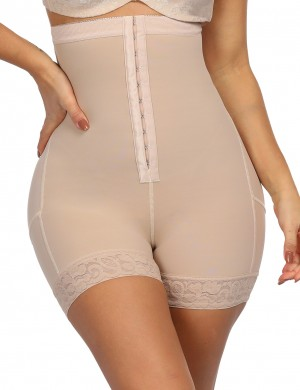 Post Surgery High Waist Nude Plus Size Butt Enhancer Panty Super Faddish
