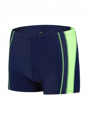 Splendor Square Leg Boxer Brief Swimwear For Men Hawaii Comfort