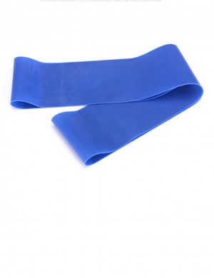 Blue Elastic Latex Tension Exercise Band Best Selling