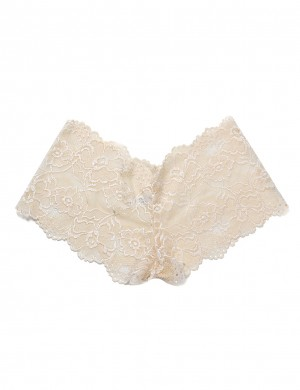 Delightfully Solid Color Lace Stitch Floral Underwear Quality Assured