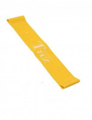 Weight Loss Yellow Print Yoga Elastic Band Emulsion High Quality