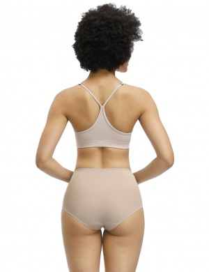 Extra Firm Skin Seamless Plain Butt Enhancer Panty Flat Tummy