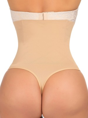 Cellulite Reducing Skin Color High Waist Butt Lifter Big Size Seamless For Women