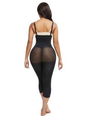 Black Adjustable Straps Big Size Body Shaper Figure Shaping