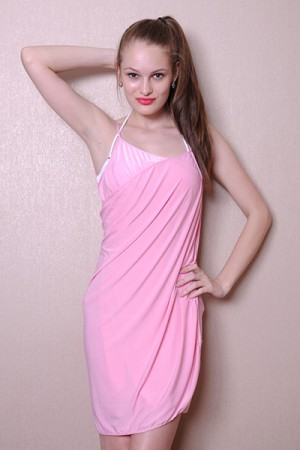 Radiant Pink Beach Swim Wrap Cover Up Dress Sleeveless Shop Online