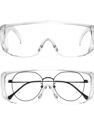 Transparent Eyepiece Protective Glass Anti-Dust Fashionable Design
