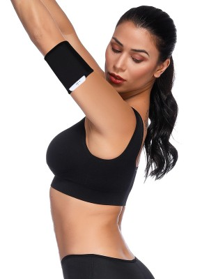 Black Neoprene Arm Shaper With Pocket