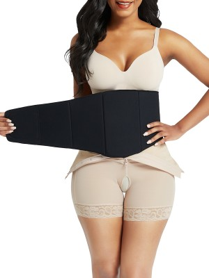 Black Post Surgery Abdominal Lipo Board Compression Slimming Tummy