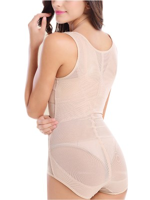 Compression Large Full Back Body Shaper No Sleeves