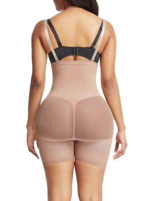 Figure Compression Skin Color Seamless Tummy Control Body Shaper
