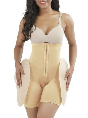 Dark Skin Butt Enhancer Single Hooks Underbust With Pad