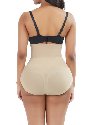 Instantly Slims Skin Color 3 Rows Hooks Panty Shaper Underbust
