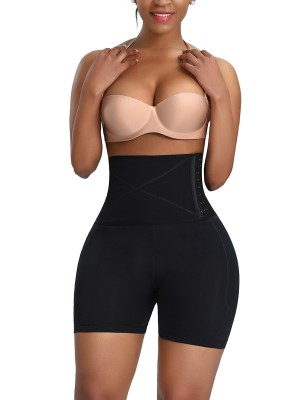 Miracle Black High Waist Shaper Pants Large Size Tight Fitting