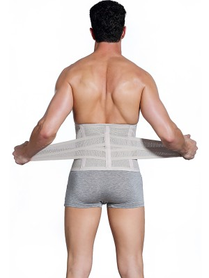 Breathable Nude Sticker Fat Burner Men Waist Shaper