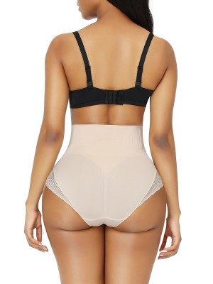 Nude High Waist Butt Lifter Large Size Sameless Firm Compression