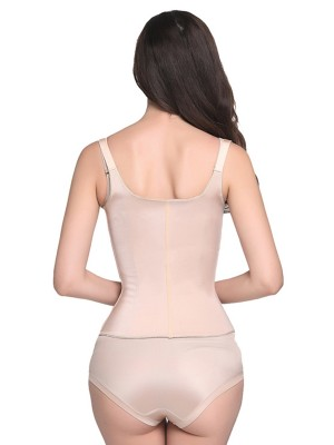 Skin 4 Bones Zipper Latex Waist Trainer Vest