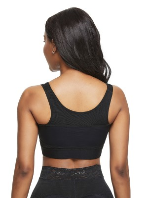 Most Comfortable Black Big Size Posture Corrector Bra Hooks Trimmer