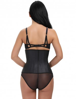 Full Size 25 Boning Latex Waist Trimmer Hook Closure