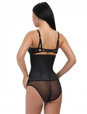 Hook And Eyes Closure Floral Waist Trimmer Latex