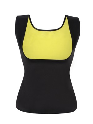 Black Plus Size Tank Tops Neoprene