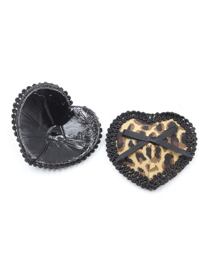 Inviting Bowknot Heart Shape Nipple Cover Little Thrills