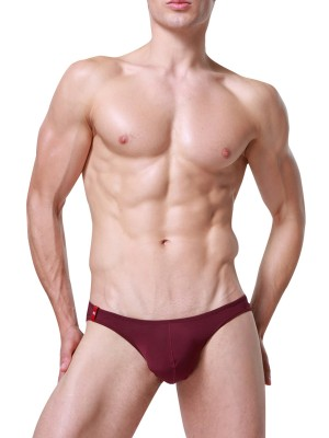 Sultry Separate Pouch Elastic Boxer Briefs Slim Style