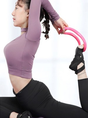 Strong Support Fascia Stretch Yoga Ring Neck Message