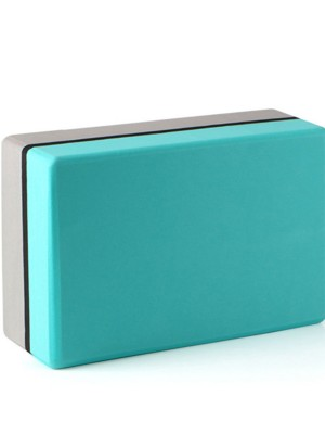 High Density Yoga Brick Colorblock Gentle Touch