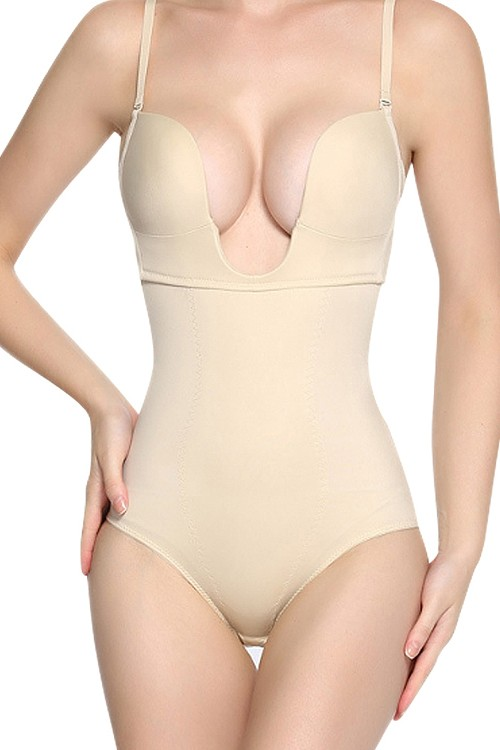 Perfect Nude Adjustable Straps Body Shapewear Backless
