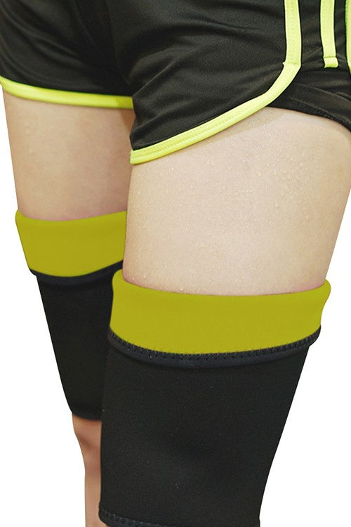 Affordable Compression Thigh Yellow Slimmer Sweat Bursting