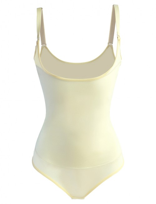 Amazing Nude Cami Straps Large Latex Waist Trainer Curve Back