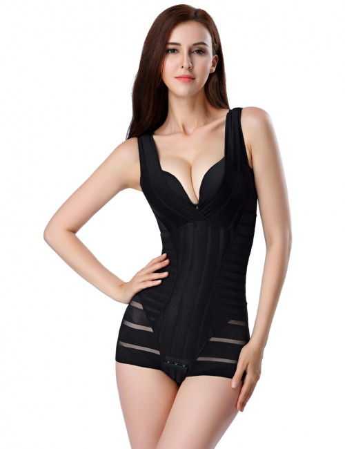 Black Plus Sweatheart Hips Body Shaper Blood Circulation Boosting