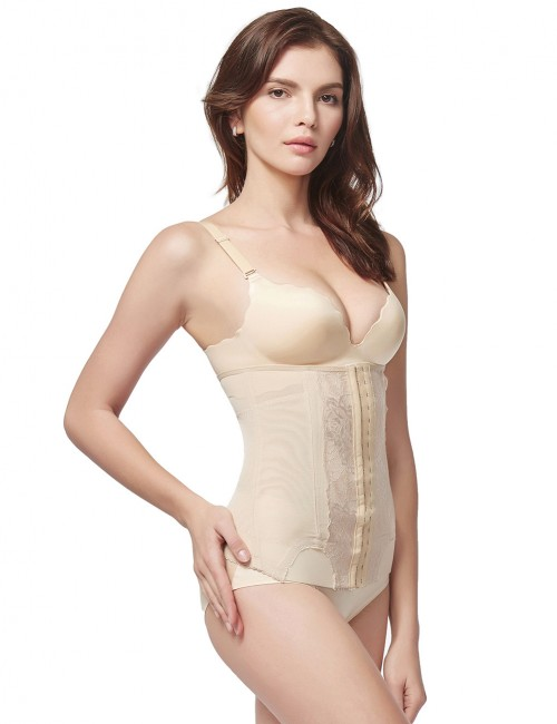 Basic Shaping Nude Big Waist Slimmer 3 Hook Rows Supper Fashion