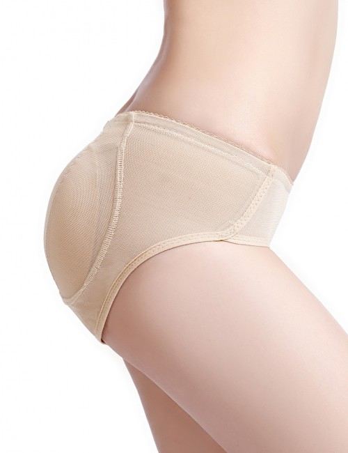 Flat Out Nude Big Size Lace Booty Lifters Padding Meticulous Design