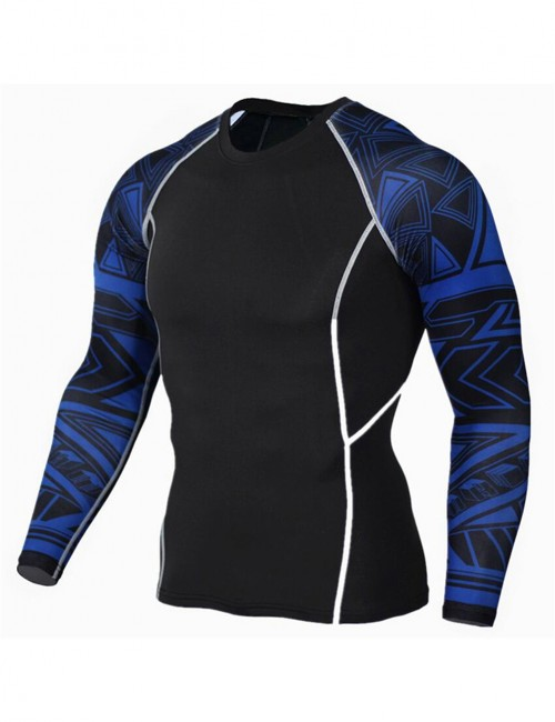 Individualistic Big Size Tight Sports Top Patchwork Free Time