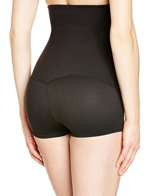 Defining Moment Black Plus Anti-Slip High Waist Butt Lifer Boyshort Extra Sexy