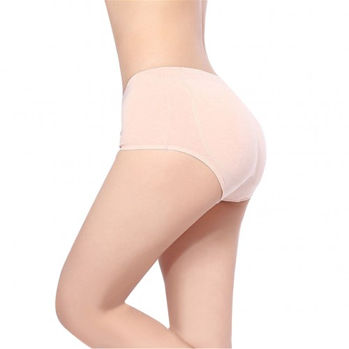 Nude Booty Cotton Women Silicone Hip Pads Butt Lifter Panties