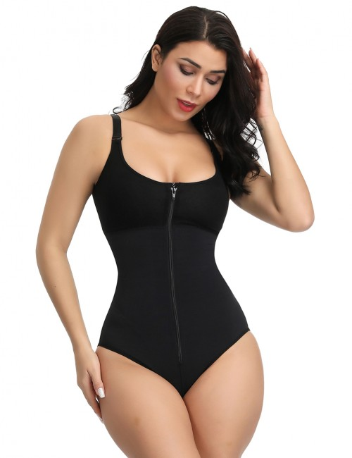 Black Queen Size Tummy Control Body Shaper Potential Reduction