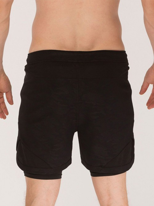 Appealing Black High Waist Running Shorts Pocket For Workout