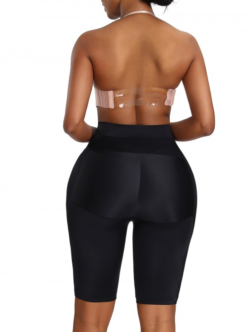 Black Butt Enhance Shaper Seamless High Waist Smooth Abdomen