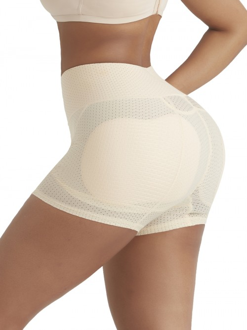 Contour Skin Color Butt Lifter Sponge Pad Solid Color Close Fitting