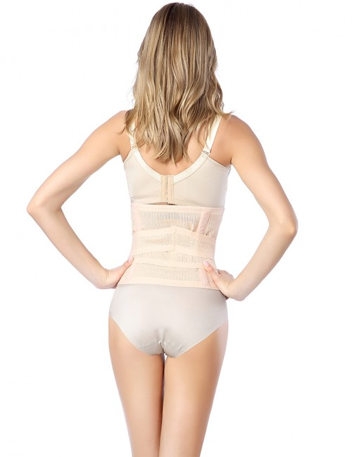 Affordable Solid Nude Unisex Strapless Waist Training