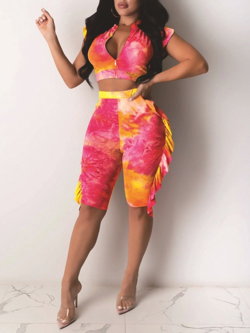 Charming Stringy Selvedge Shorts Set Tie-Dyed Cheap Online