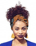 Simplicity Africa Print Hair Band Accessories Versatile Item