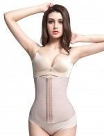 Compression Rubber Waist Cincher Steel Bones Slimming Belly